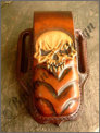 "Knifepouch/Messertasche ""Mean Skull"""