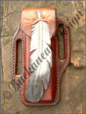 "Messertasche ""Feather"""